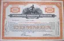 'International Combustion Engineering Corporation' 1932 Stock Certificate