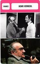 FICHE CINEMA :  HENRI VERNEUIL -  France (Biographie/Filmographie)