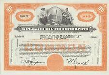 Sinclair Oil Corporation Stock Certificate
