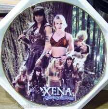 """XENA LIMITED EDITION COLLECTOR CHINA PLATE - """"TWO WOMEN ONE JOURNEY"""" #13 OF 500"""