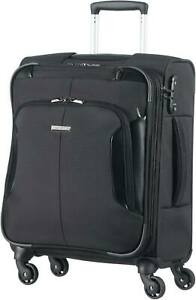 "Samsonite XBR 4 Wheel Travel Bag Cabin Case Trolley 15.6"" Laptop Black J8R"