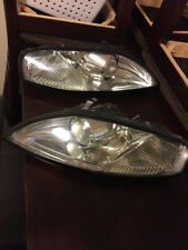 Clear SC300 Headlight LENSES Without Black Edge Line