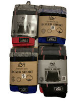 Mens Boxer Shorts Cotton Rich Comfort Fit Underwear 6-12 pack  S M L XL 2XL