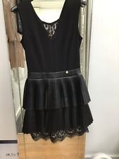 Designer Black Rinascimento Sleeveless Dress New With Tags