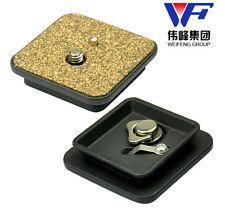 Metal Weifeng WF 6663 A 6663 plaque de dégagement rapide pour trépied Weifeng FT WF-6663A
