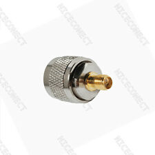 10x RF Connector adapter RP-SMA Jack to RP-N Plug male straight RF Adapter
