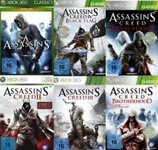 360 Xbox figuras assassins creed Six Pack 1 + 2 + 3 + 4 + Brotherhood + Revelations NW