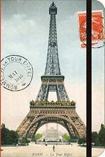 Cavallini EIFFEL TOWER PARIS 256-Page 6X4Inch NOTEBOOK w/ elastic close NBPARNEW