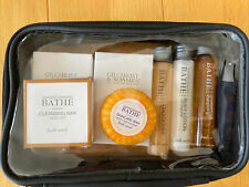 BNIP Gilchrist & Soames Multi Item Travel Gift Set BATHE Skin, Soap & Hair Care