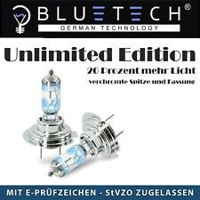 BLUETECH® 2x Unlimited Edition H7 55W 5500K Xenon Effekt mit StVZO Zulassung