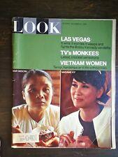 Look Magazine December 27, 1966 - Vietnam Women - Las Vegas - TV's The Monkees