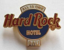 Hard Rock Cafe Pin Bali Hotel All is One Logo