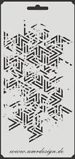 Scrapbooking gabarit s-090 carte vintage ~ stencil ~ umr-DESIGN