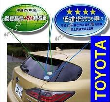 Oem Emission Decal Set TOYOTA JAPAN'S  LEXUS ALTEZZA  ARISTO COROLLA  LUV4 VITZ