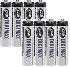 8 x AAA 750 MAH RECHARGEABLE BATTERIES-NI-MH (LR03)
