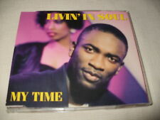 LIVIN' IN SOUL - MY TIME - 6 MIX UK CD SINGLE