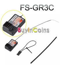 2.4Ghz 3CH FlySky FS-GR3C GT3B Failsafe Receiver For Rc Car Boat GT3B bdu