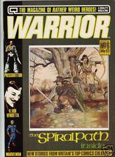 Warrior #6 Alan Moore V for Vendetta Marvelman 1982