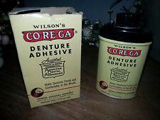Old Dental Tin & Box Co-Re-GA Denture Adhesive Corega Chemical Jersey City NJ
