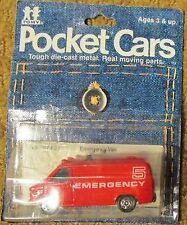 1979 TOMY / Tomica Pocket Cars Chevy Emergency Van No. 207-F22 Assort. No. 4503