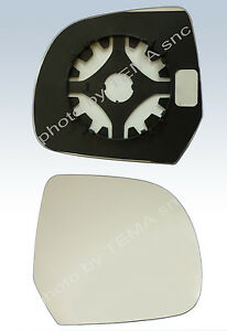 Specchio retrovisore NISSAN Micra dal 2010 --piastra supporto+vetro destro