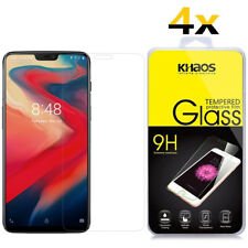 4-Pack Khaos For Oneplus 6 Tempered Glass Screen Protector