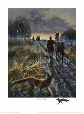 Mick Cawston 'Another Day'. Wildlife Fox Hunting, fine art print