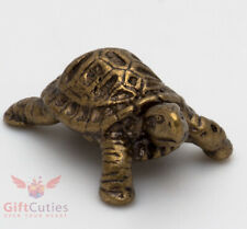 Solid Brass Figurine of Tortoise Turtle talisman Totem IronWork