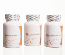 3 BOTTLES Nutrarelli (90 cap) 2014 month weigth loss slimax carbotrap nutrareli