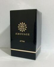 Rare Black Box Amouage Attar SHAMS AL DOHA 12 ML. New in box.