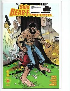 SHIRTLESS BEAR FIGHTER #1 A B C 3 COMPLETE COVER SET. NM