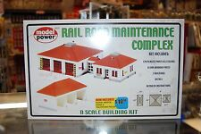 N Model Power 490-1584 * Railroad Maintenance Complex kit * NIB