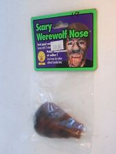 Werewolf Plastic Nose Peel & Stick On Halloween Trick Or Treat Rubies Costume