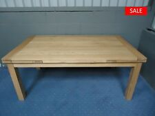 Solid Oak Draw Leaf Extending Dining Table