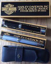 Harley Davidson by Stypen - fountain pen (stilo) ballpoint (sfera) Pen Case