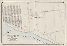 1913, MONTREAL, CANADA, VERDUN, PROTESTANT HOSPITAL FOR INSANE, COPY ATLAS MAP