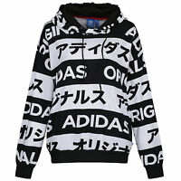 adidas ORIGINALS SIZE UK 6-14 TYPO HOODIE WOMEN'S LADIES GIRLS PULLOVER HOODY