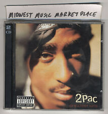2Pac - Greatest Hits Explicit [PA] Two-CD Set - Amerikaz Most Wanted - Trapped