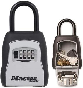 MASTER LOCK Portable Key Safe [Medium size] [Outdoor] - 5400EURD - Key Lock Box