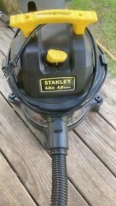 stanley 4 hp wetdry vac