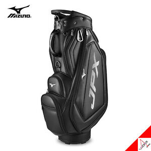Mizuno 2021 JPX 006 Men's Golf Cart Caddie Bag 9.5inch 7lbs Polyurethane- Black