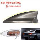 Brown Shark Fin Antenna Cover Car Signal Radio Aerial Decoration For Cadillac