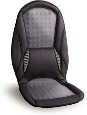 HoMedics TRC-100 TempRite Massage Cushion w/ Dual Climate Control Portable Black