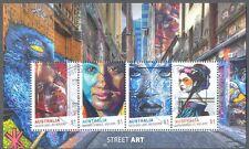Australia-Street Art May 2017fine used cto  min sheet