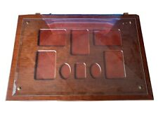 Used-Bombay Company mahogany wall picture frame photo collage