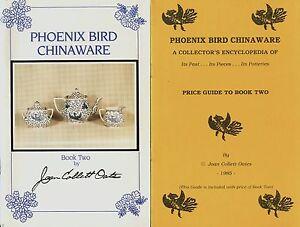 Phoenix Bird China - History Makers Marks Patterns / Illustrated Book + Values