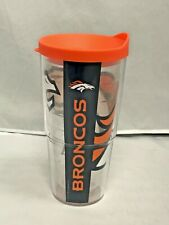 Tervis 1085195 OFFICIAL NFL Denver Broncos 24oz Tumbler Colossal Wrap&Orange Lid