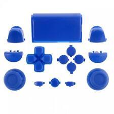 Custom PS4 Controller Buttons Full Mod Kit Triggers DPad Thumbsticks (Blue)