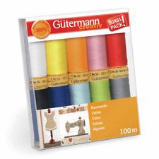 Gutermann Thread Set Natural Cotton 10 X 100m Colour Assortment 2