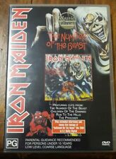NEW IRON MAIDEN THE NUMBER OF THE BEAST DVD MUSIC MOVIE CD COLLECTOR ALBUM BAND